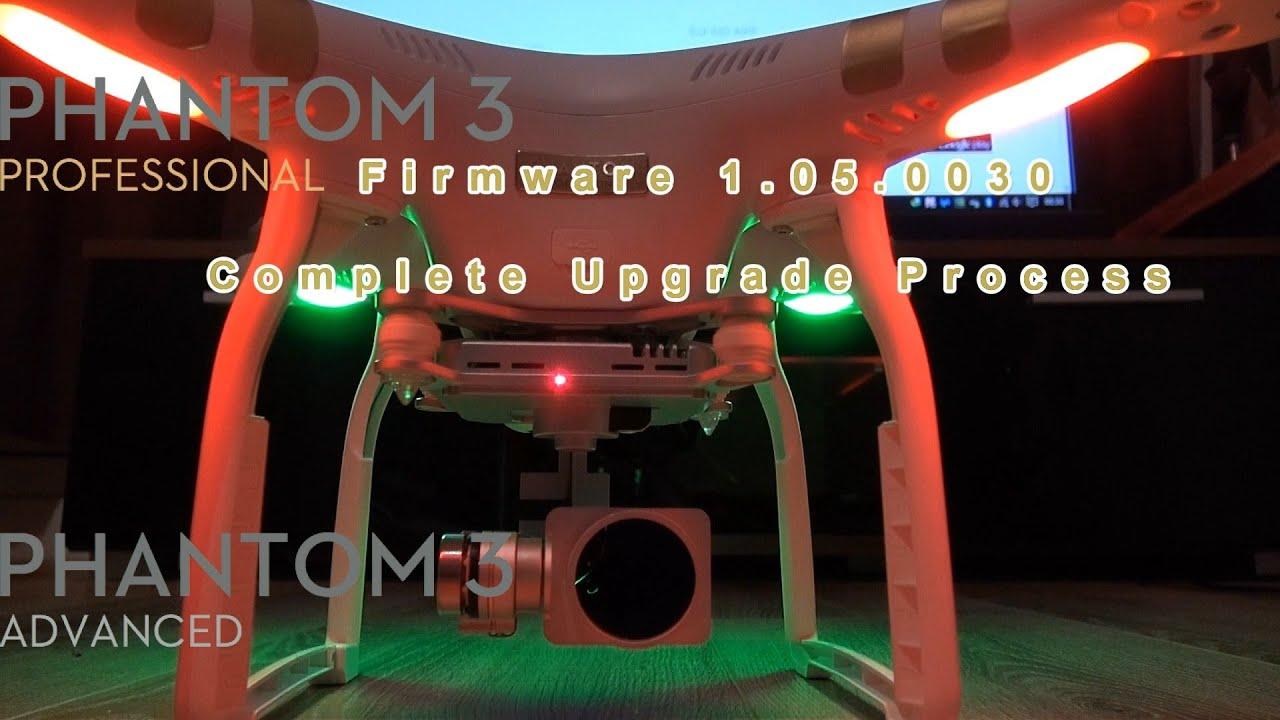 updating firmware on dji phantom 4 pro