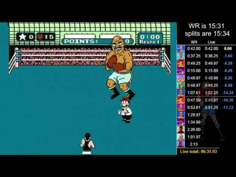 Mike Tyson's Punch-Out!! Former World Record Speed Run in 15:12.14