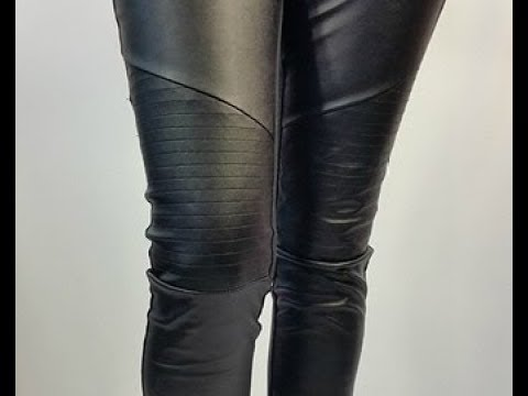 from Haiden women in leather pants youtube