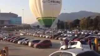 Acidente com Balão em Jaraguá do Sul