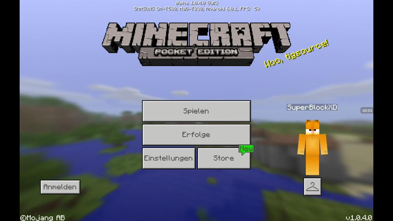 Minecraft Pocket Edition Herobrine Addon YouTube - Minecraft herobrine spielen