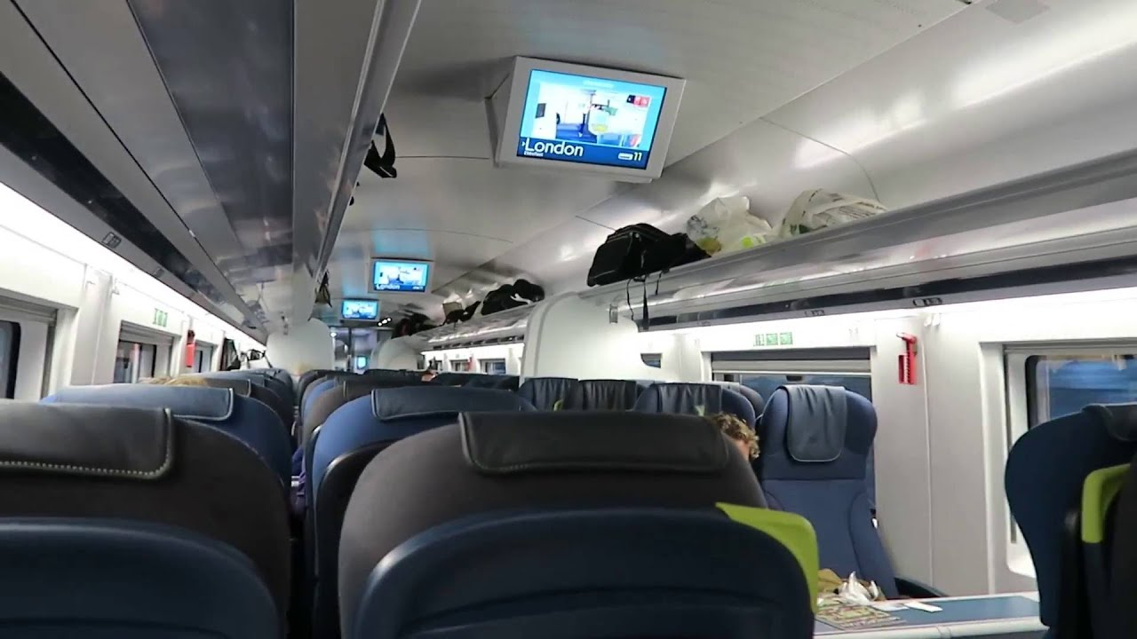 inside a new eurostar class 374 train 26 may 2016 youtube. Black Bedroom Furniture Sets. Home Design Ideas