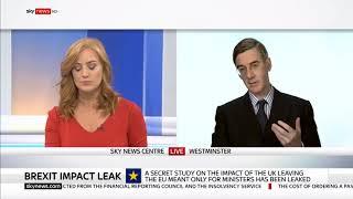 Jacob Rees Mogg Dismisses Brexit Impact Leak Nonsense