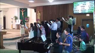 Tiến bước vào nhà Chúa  -  Hải Nguyễn