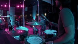 Arms Open Wide - Hillsong United - Live Drum Cam - Chris Bair - GoPro