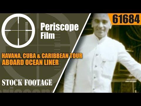 HAVANA, CUBA & CARIBBEAN TOUR ABOARD OCEAN LINER  RMS EMPRESS OF AUSTRALIA 61684
