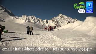 Viziteaza unicul Hotel de Gheata  din  Romania
