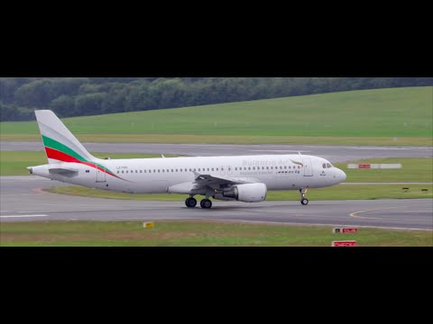 VERY RARE!!! Bulgaria Air A320 | Planespotting at Hamburg 2016