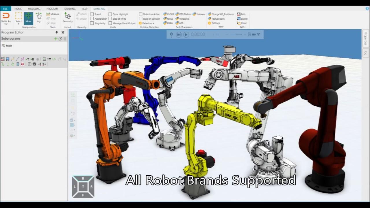 Robot Offline Programming - Delfoi