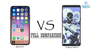 Iphone 8 vs Galaxy Note 8 | Full specs, leaks, release date and comparison