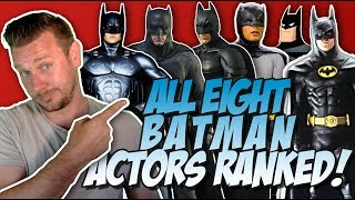 All 8 Batman Actors Ranked From Worst to Best