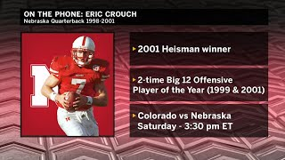 Eric Crouch Interview Nebraska Big Ten Football