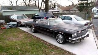 1975 Buick LeSabre Custom convertible walk around and drive