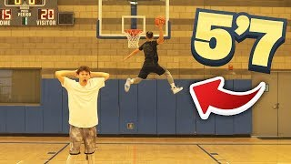 5'7 Asian Guy Does The MOST INSANE DUNKS - BASKETBALL