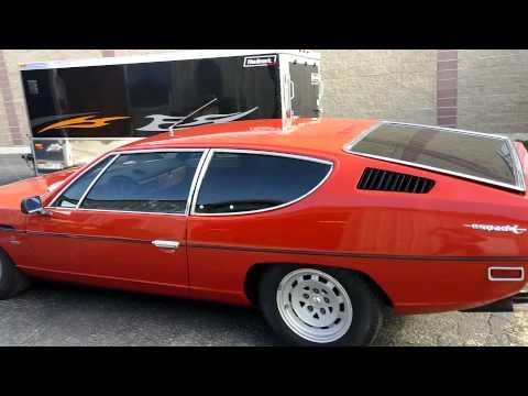 1973 Lamborghini Hood Repair