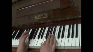 обучающие видео уроки по фортепиано Es dur
