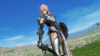 DISSIDIA FINAL FANTASY NT 1v1  Lightning vs Sephiroth