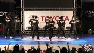 PRELIMINARY SHOWCASE 04 HRC Bboyz   2015 TOYOTA BOTY TAIWAN