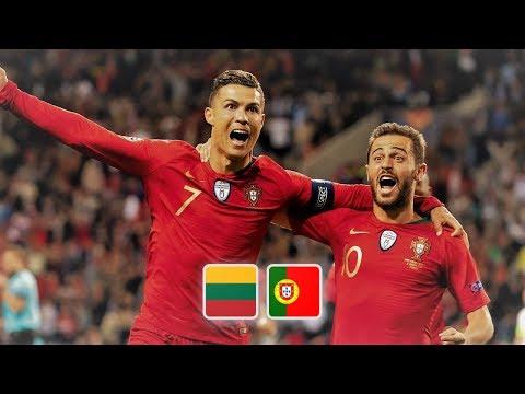 Литва - Португалия обзор матча футбольных сборных