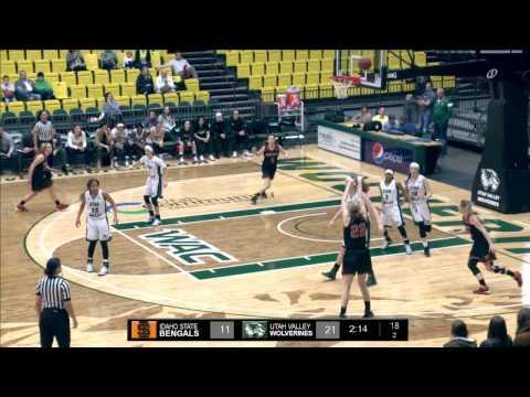 NCAA DI Women's Basketball: Idaho State University at Utah Valley University