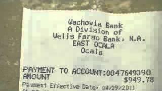 Nightmare with Wachovia / Wells Fargo Mortgage