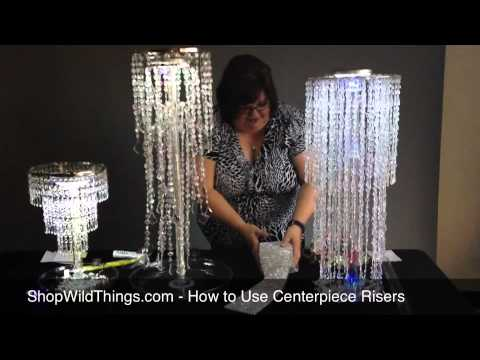 Shopwildthings How To Use Centerpiece Risers Youtube