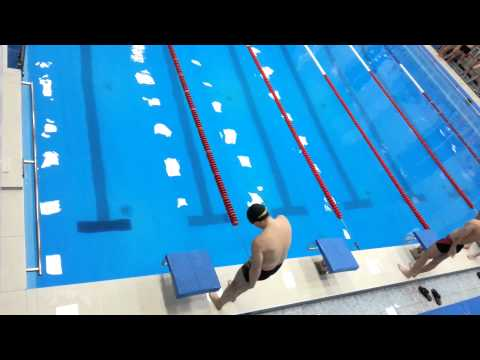 50 метров кроль соревнование работников УУАЗ