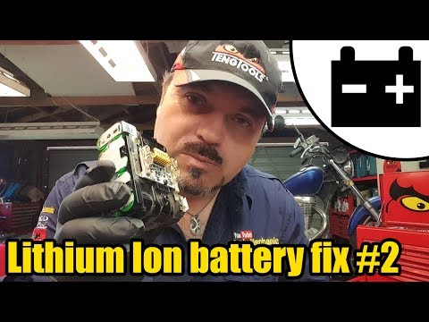 Lithium Ion battery Ep. 2 testing & replacing cells #1445