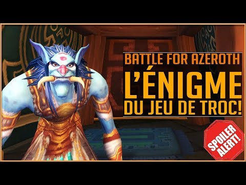 ALPHA BATTLE FOR AZEROTH - L'Énigme du Jeu de Troc