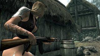 Skyrim: (Мод) - Набор Огнестрельного Оружия / WeaponMod  -