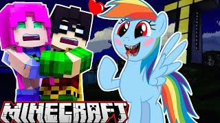 Minecraft Teen Titans GO & My Little Pony