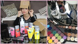 UNBOXING : Commandes Make up for ever, Sedona Lace, Kneip
