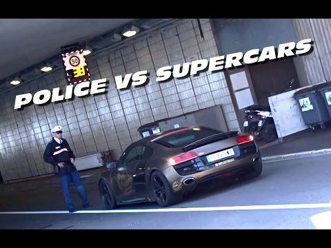 POLICE VS SUPERCARS