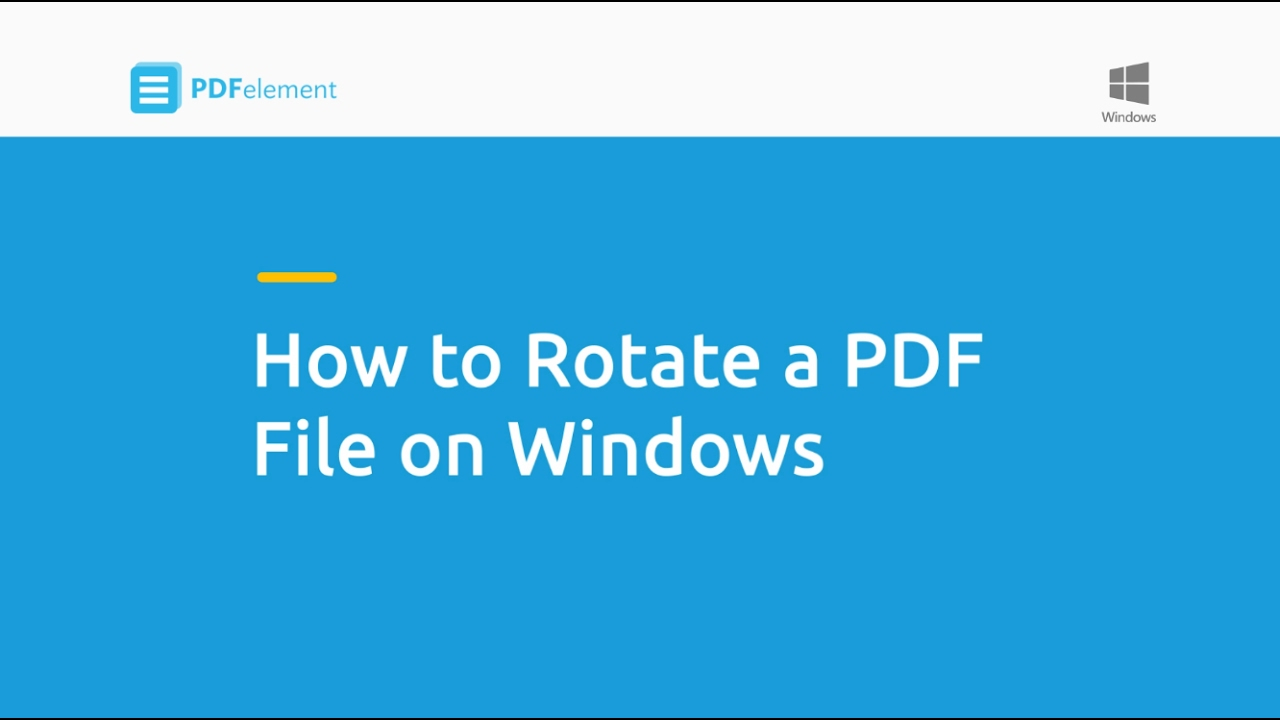 Rotate PDF permanently online for free