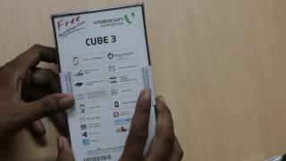 videocon cube 3 unboxing