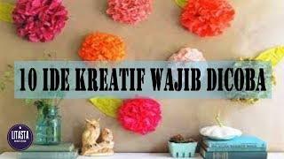 10 IDE KREATIF YANG WAJIB DICOBA | DIY HOME DECOR