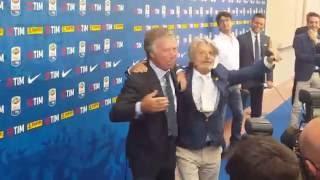 """Serie A, siparietto Ferrero-Preziosi: """"E' lui il vero presidente!"""""""