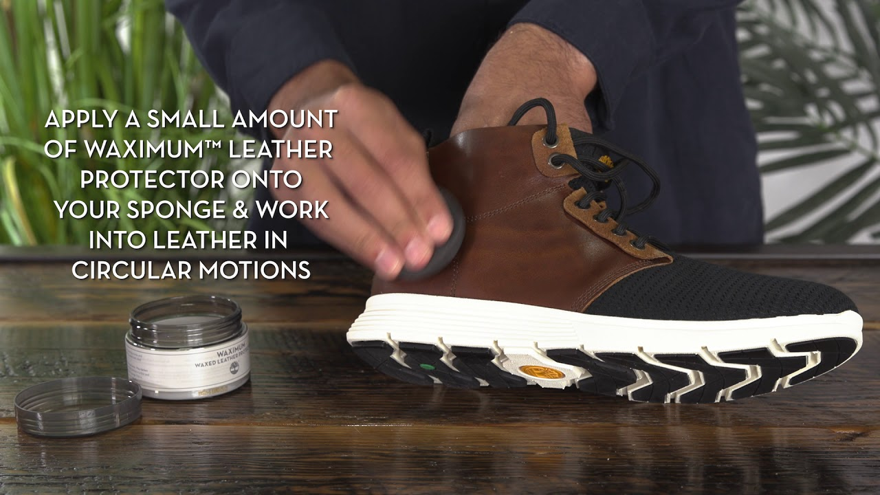 En otras palabras acento cuchara  How to Clean Your Timberland Sneakers | Timberland - YouTube
