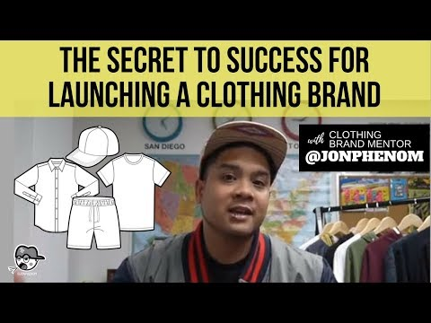 The Secret to Success for launching a Clothing Brand | Designer @JonPhenom
