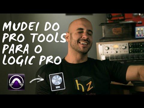 Mudando do Pro Tools para o Logic Pro X