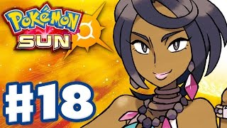 Pokemon Sun and Moon - Gameplay Walkthrough Part 18 - Olivia's Akala Grand Trial! (Nintendo 3DS)