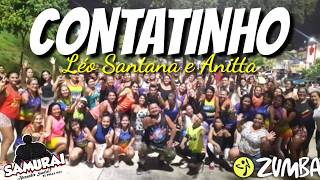 Baixar CONTATINHO-Léo Santana e Anitta|ZUMBA-Alexandre Santini-O Samurai