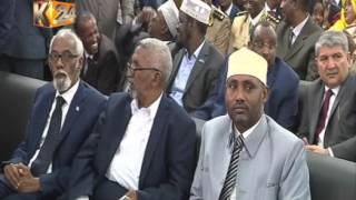 President Kenyatta attends inauguration of new Somali leader