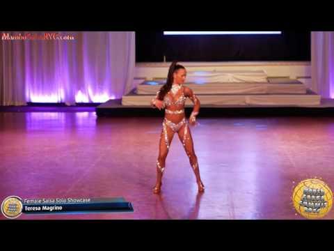 WSS16 Feb4 Rising Star Salsa On 1 Showcase  Female Salsa Showcase Final