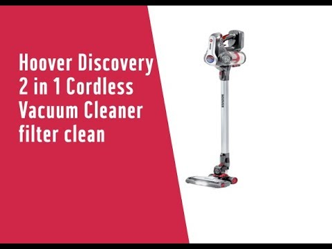 Hoover Discovery 2 in 1 Cordless Vacuum Cleaner filter clean 7032370