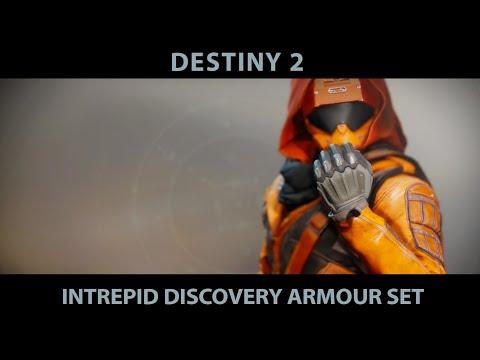 Destiny 2 Intrepid Discovery Armour. Hunter Armour Set.