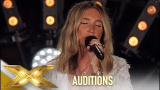 Megan McKenna: WOW! Simon Left Emotional By Her Incredible Original!| The X Factor 2019: Celebrity