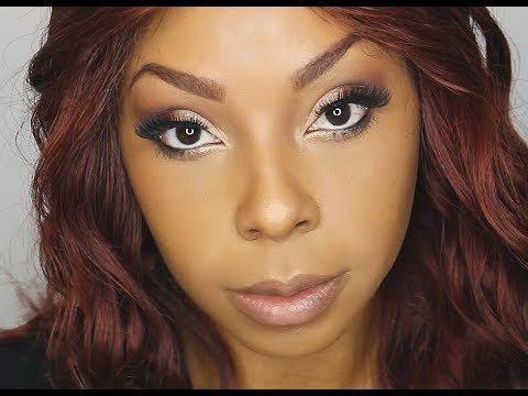 Easy Day To Night Fall Eyeshadow Tutorial ~Shavonne Ritchie~ thumbnail