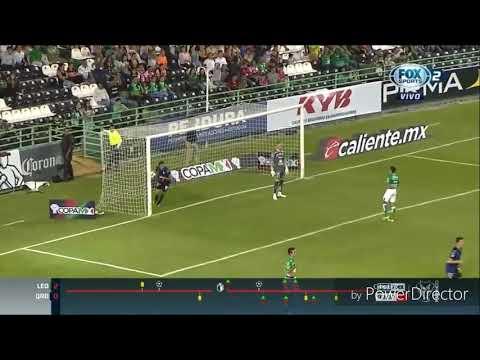 León vs Queretaro 2-1 Gol Javier Güemes Copa Apertura 2018