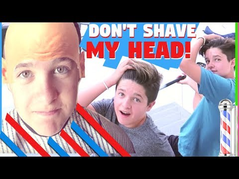 Shaving our Twin boys heads! Brock and Boston 😂| The Mikesell Family